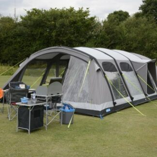 The Kampa Studland 8 Classic Air Pro Tent is Sold by Devon Outdoor and The Camping and Kite Centre.