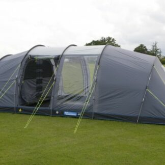 The Kampa Watergate 6 Tent is Sold by Devon Outdoor and The Camping and Kite Centre.