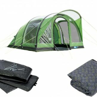 The Kampa Brean 4 Air Tent is Sold by Devon Outdoor and The Camping and Kite Centre.