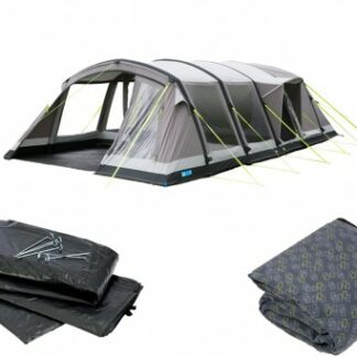 The Kampa Croyde 6 Classic Air Pro Tent Package is Sold by Devon Outdoor and The Camping and Kite Centre.