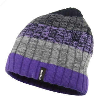 The Dexshell Ladies Gradient Beanie Hat is Sold by Devon Outdoor and The Camping and Kite Centre.