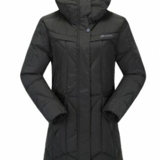 The Skogstad Ladies Moseter Down Parka is Sold by Devon Outdoor and The Camping and Kite Centre.
