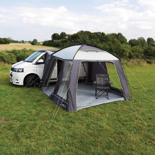The Outdoor Revolution Cayman Classic Driveaway Awning is Sold by Devon Outdoor and The Camping and Kite Centre.