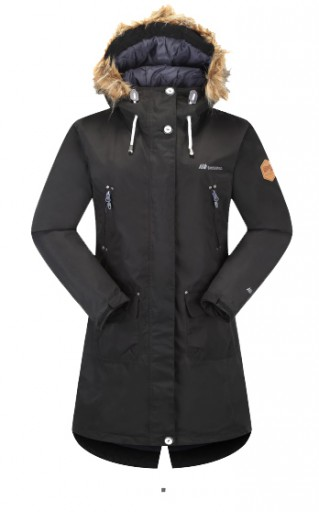 The Skogstad Ladies Sandnes 2 Layer Technical Parka is Sold by Devon Outdoor and The Camping and Kite Centre.
