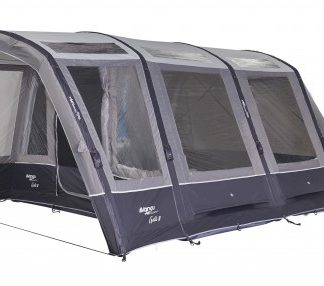 The Vango Galli III Tall Driveaway Awning is Sold by Devon Outdoor and The Camping and Kite Centre.
