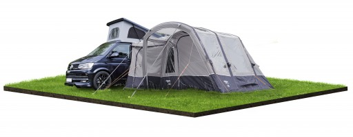 The Vango Galli III Compact Low Driveaway Awning 2019 is Sold by Devon Outdoor and The Camping and Kite Centre.