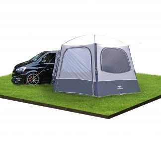 The Vango Airhub Hexaway II Low Driveaway Awning 2019 is Sold by Devon Outdoor and The Camping and Kite Centre.
