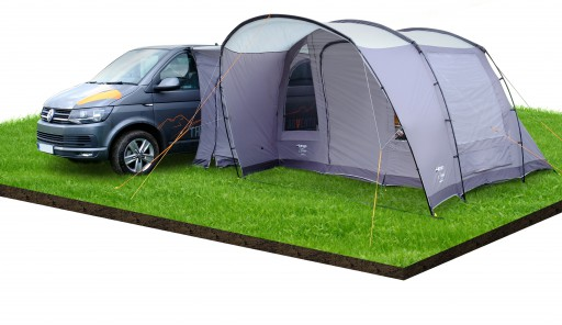 The Vango Noosa Low Driveaway Awning 2019 is Sold by Devon Outdoor and The Camping and Kite Centre.