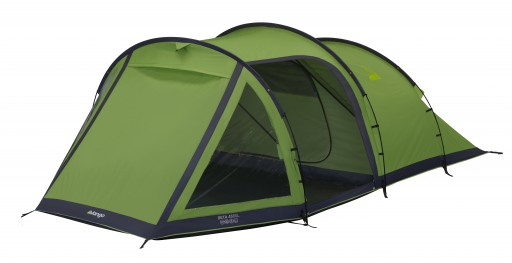 The Vango Beta 450XL Tent is Sold by Devon Outdoor and The Camping and Kite Centre.