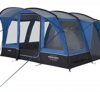 The Vango Hudson 600XL Tent 2019 is Sold by Devon Outdoor and The Camping and Kite Centre.