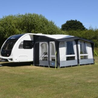 The Kampa Club Air Pro 390 is Sold by Devon Outdoor and The Camping and Kite Centre.