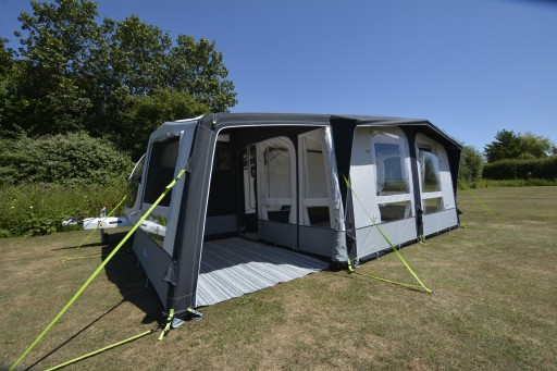 The Kampa Club Air Pro 390 Plus Left is Sold by Devon Outdoor and The Camping and Kite Centre.