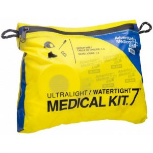 The Adventure Ultralight/Watertight .7 Medical Kit is Sold by Devon Outdoor and The Camping and Kite Centre.