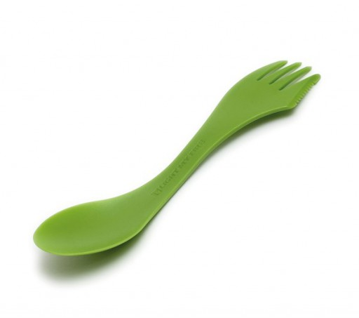 The Light My Fire Spork is Sold by Devon Outdoor and The Camping and Kite Centre.