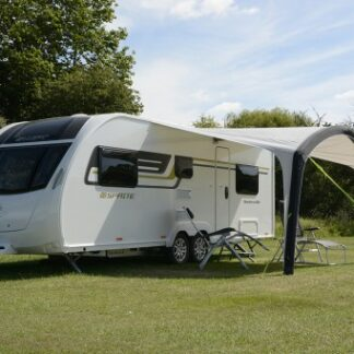The Kampa Sunshine Air Pro 400 Canopy is Sold by Devon Outdoor and The Camping and Kite Centre.