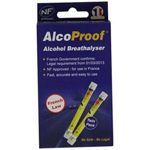The Alcoproof Alcohol Breathalyser is Sold by Devon Outdoor and The Camping and Kite Centre.