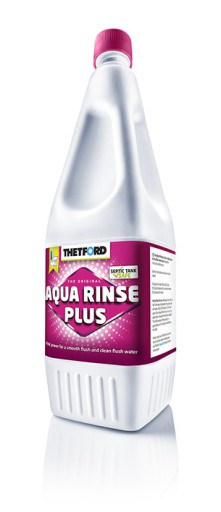 The Thetford Aqua Rinse Plus is Sold by Devon Outdoor and The Camping and Kite Centre.