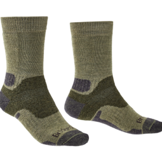 The Bridgedale Mens Hike Midweight Socks are Sold by Devon Outdoor and The Camping and Kite Centre.