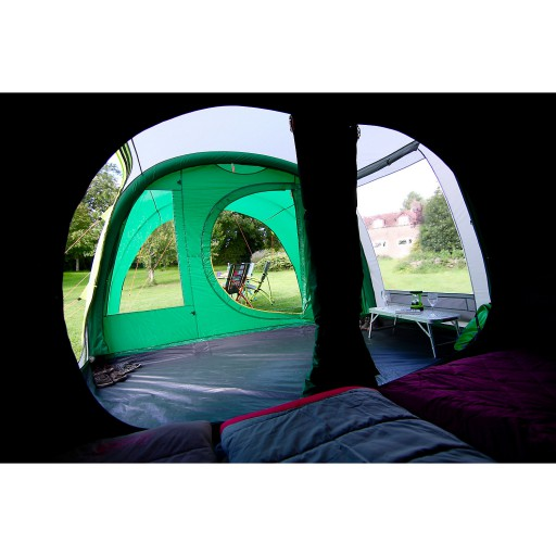 The Coleman Fastpitch Air Valdes 4 Tent is Sold by Devon Outdoor and The Camping and Kite Centre.