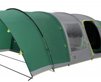 The Coleman Fastpitch Air Valdes 6XL Tent is Sold by Devon Outdoor and The Camping and Kite Centre.