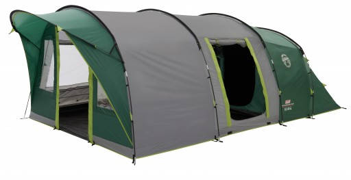 The Coleman Pinto Mountain 5 Plus Tent is Sold by Devon Outdoor and The Camping and Kite Centre.