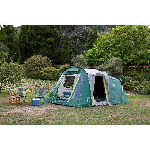The Coleman Mackenzie 4 Tent is Sold by Devon Outdoor and The Camping and Kite Centre