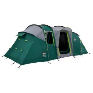 The Coleman Mackenzie 6 Tent is Sold by Devon Outdoor and The Camping and Kite Centre.