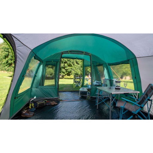 The Coleman Pinto Mountain 5 Plus XL Tent is Sold by Devon Outdoor and The Camping and Kite Centre.