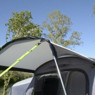 The Kampa Travel Pod Motion Air Canopy is Sold by Devon Outdoor and The Camping and Kite Centre.