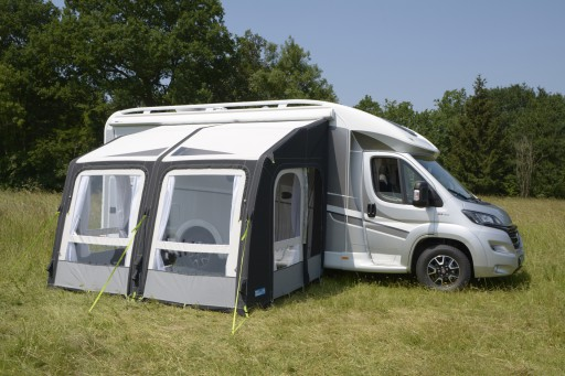 The Kampa Motor Rally Air Pro 330 L is Sold by Devon Outdoor and The Camping and Kite Centre.