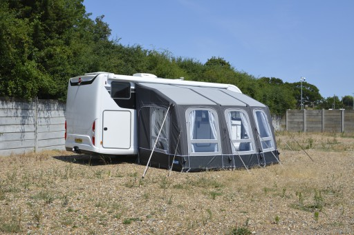 The Kampa Motor Ace Air All Season 400 L is Sold by Devon Outdoor and The Camping and Kite Centre.