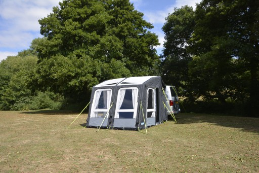 The Kampa Motor Rally Air Pro 260 Driveaway is Sold by Devon Outdoor and The Camping and Kite Centre.