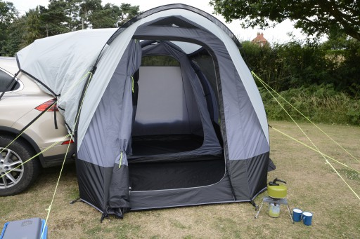 The Kampa Travel Pod Tailgater Air is Sold by Devon Outdoor and The Camping and Kite Centre.