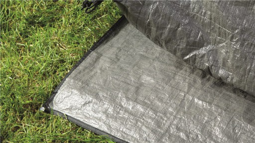 The Outwell Milestone Nap Footprint is Sold by Devon Outdoor and The Camping and Kite Centre.