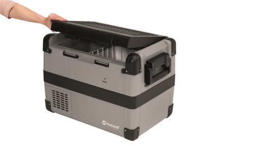 The Outwell Deep Cool 35L Compression Cooler is Sold by Devon Outdoor and The Camping and Kite Centre.