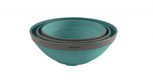 The Outwell Collaps Bowl Set is Sold by Devon Outdoor and The Camping and Kite Centre.