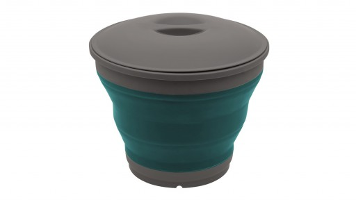 The Outwell Collaps Bucket is Sold by Devon Outdoor and The Camping and Kite Centre.