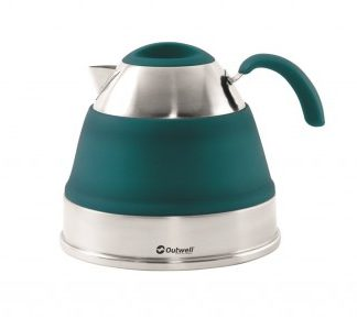 The Outwell Collaps Kettle 2.5L is Sold by Devon Outdoor and The Camping and Kite Centre.