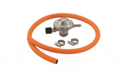 The Outwell Trinidad Gas Regulator is Sold by Devon Outdoor and The Camping and Kite Centre.
