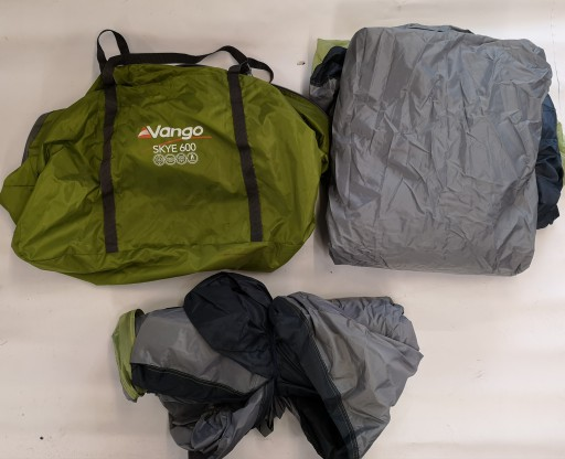 The Vango Skye 600 Spares are Sold by Devon Outdoor and The Camping and Kite Centre.
