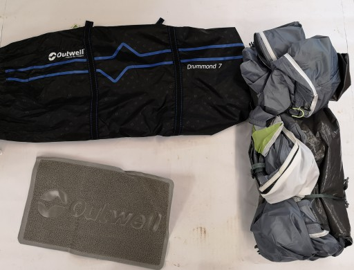 The Outwell Drummond 7 Spares are Sold by Devon Outdoor and The Camping and Kite Centre.