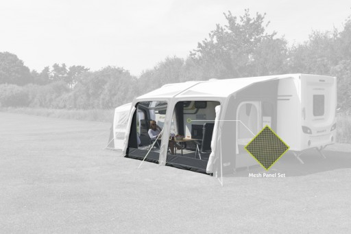 The Kampa Rally/Motor/Grande Air Pro 330 Mesh Panel Set is Sold by Devon Outdoor and The Camping and Kite Centre.