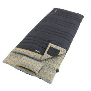 The Outwell Commodore Lux XL Sleeping Bag is Sold by Devon Outdoor and The Camping and Kite Centre.
