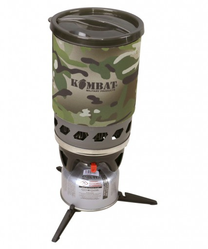 The KombatUK Cyclone Stove is Sold by Devon Outdoor and The Camping and Kite Centre.