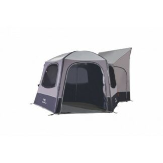 The Vango Hexaway Privacy Curtain is Sold by Devon Outdoor and The Camping and Kite Centre.
