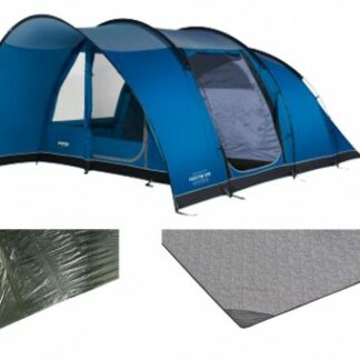The Vango Padstow 500 Tent Package is Sold by Devon Outdoor and The Camping and Kite Centre.
