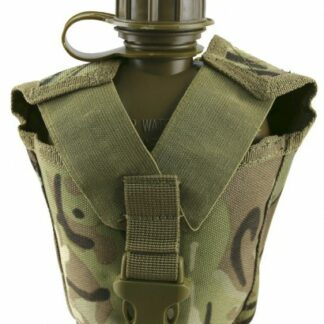 The KombatUK Tactical Water Bottle is Sold by Devon Outdoor and The Camping and Kite Centre.