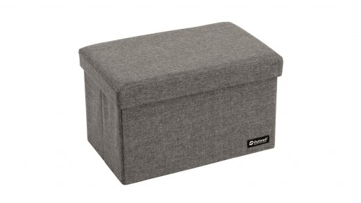The Outwell Cornillon L Seat and Storage Box is Sold by Devon Outdoor and The Camping and Kite Centre.
