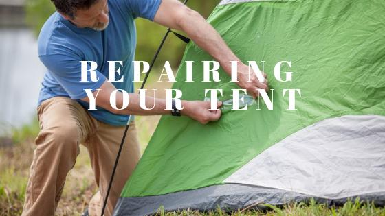 Preparing your tent