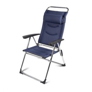 The Kampa Milano Lusso Folding Chair is Sold by Devon Outdoor and The Camping and Kite Centre.